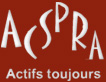 Logo ACSPRA, association sénior Saint-Etienne